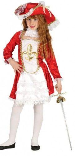 Kostium dla Dziewczynki Muszkieter, Muszkieterka Lux
