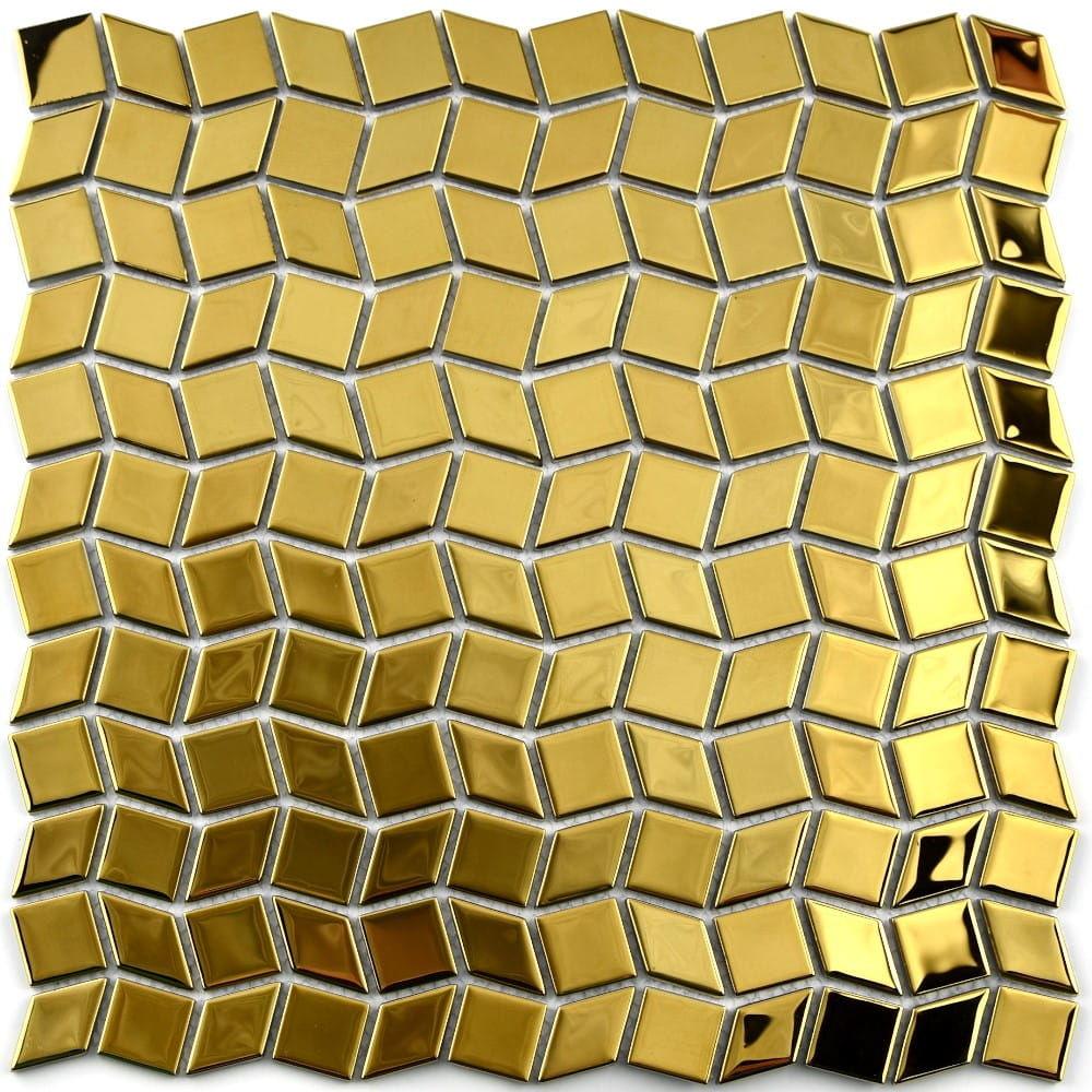 MIDAS - Mozaika szklana złota 4 mm A-MGL04-XX-036