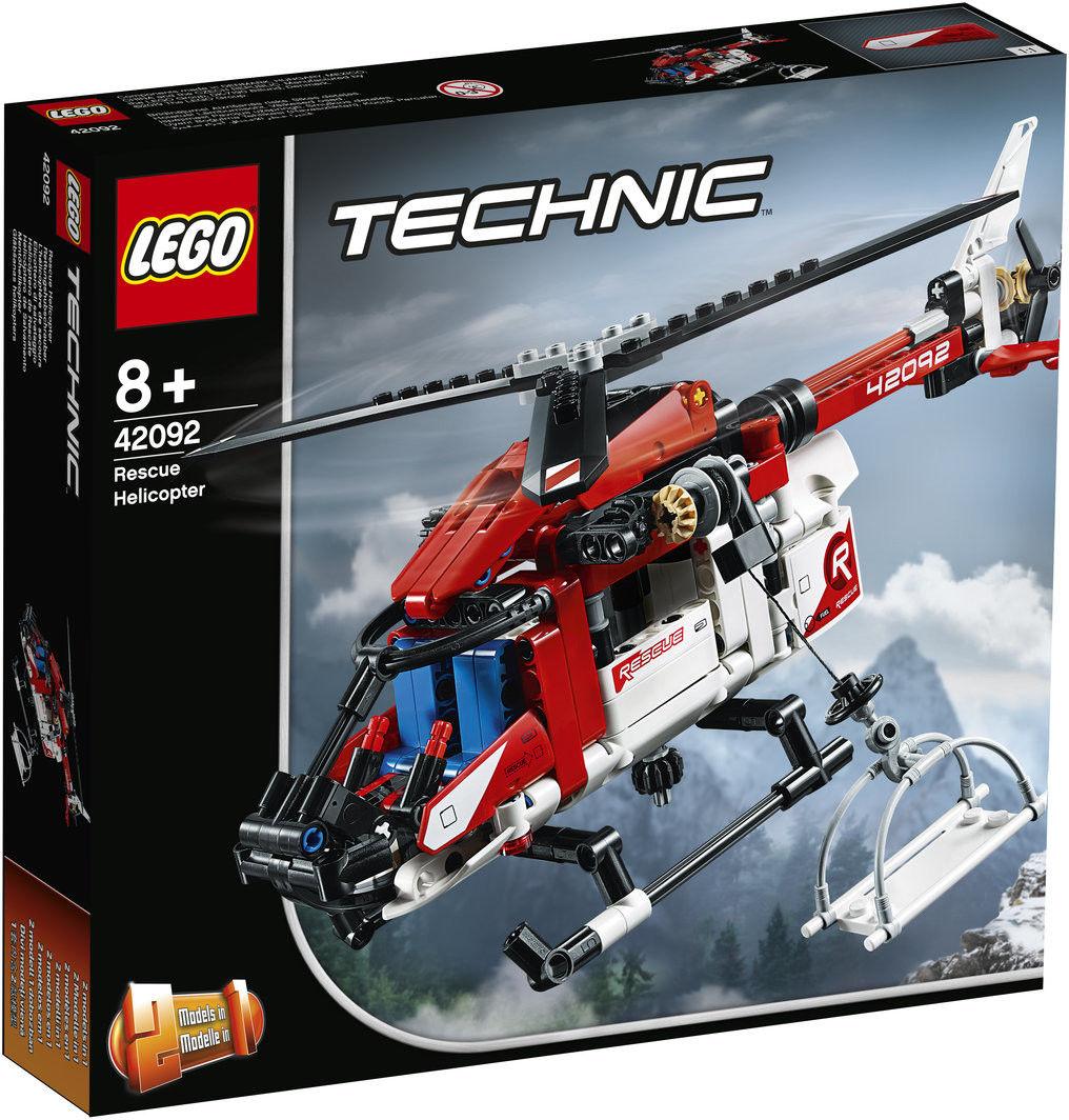 LEGO Technic - Helikopter ratunkowy 2w1 42092