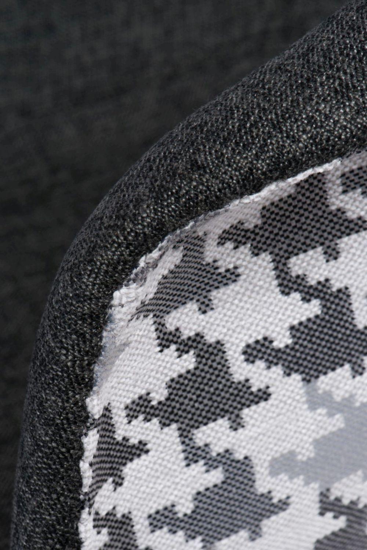 D2 Krzesło P018W Pattern szare/pepitka