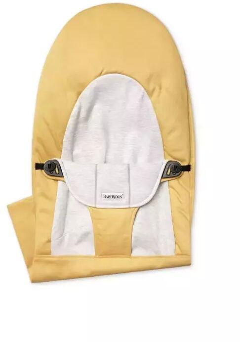 Babybjorn - poszycie do leżaczka balance soft, yellow/grey, cotton/jersey