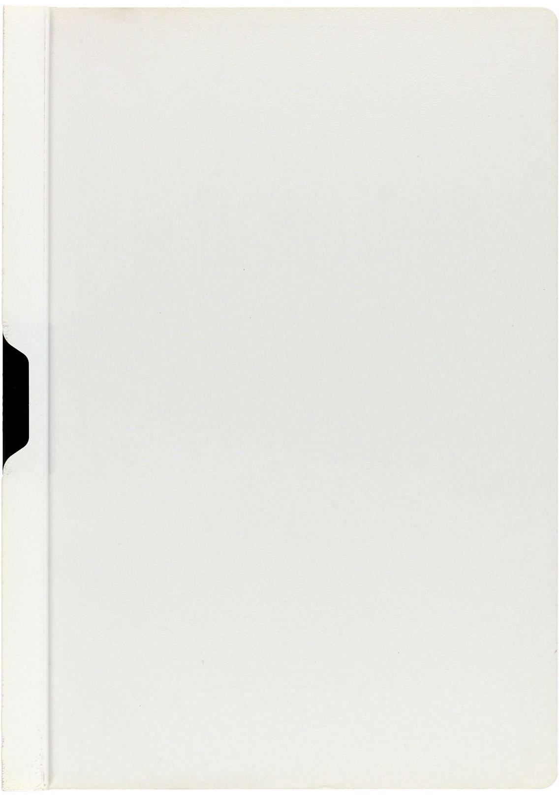 Skoroszyt zaciskowy A4/30k biały Duraclip