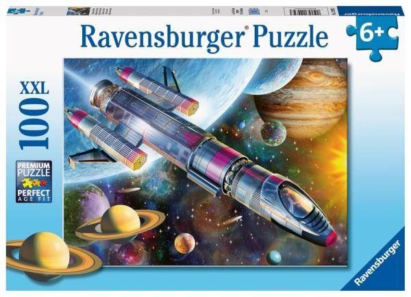 Ravensburger - Puzzle Misja w kosmosie 100 elem. 129393