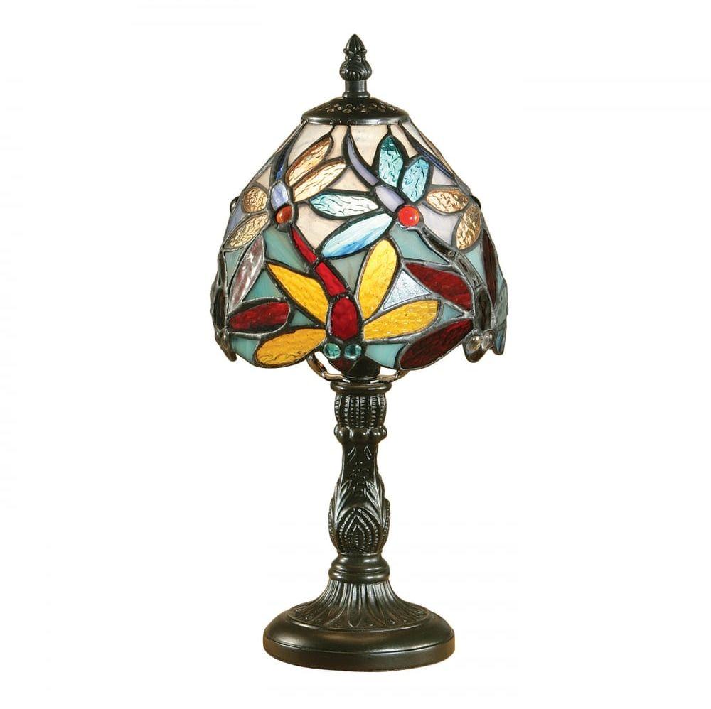 Lampa stołowa TIFFANY LORETTE - 64246 - INTERIORS 1900  Skorzystaj z kuponu -10% -KOD: OKAZJA
