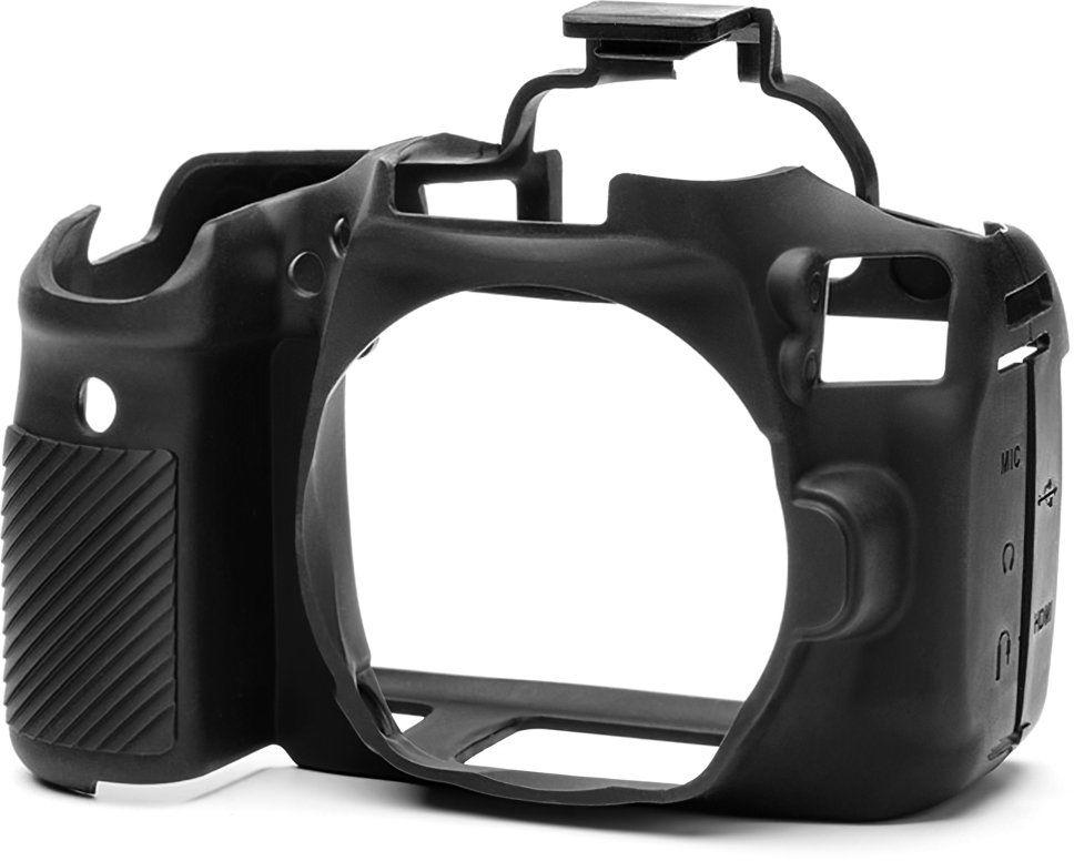 Osłona silikonowa easyCover do aparatów Canon EOS 90D czarna - WYSYŁKA W 24H