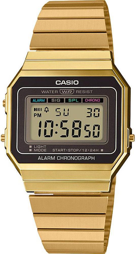 Zegarek Casio A700WEG-9AEF - CENA DO NEGOCJACJI - DOSTAWA DHL GRATIS, KUPUJ BEZ RYZYKA - 100 dni na zwrot, możliwość wygrawerowania dowolnego tekstu.