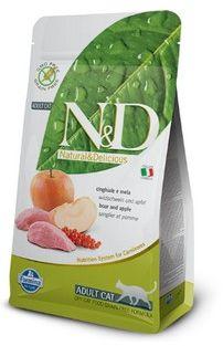 FARMINA N&D Boar&Apple 0,3 kg Cat ( bez zbóż)