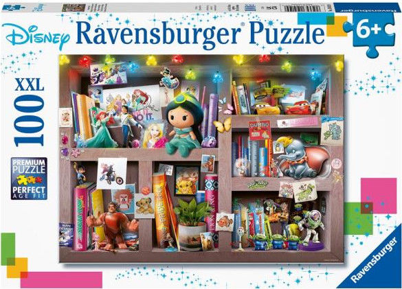 Ravensburger - Puzzle Bohaterowie Disneya 100 elem. 104109