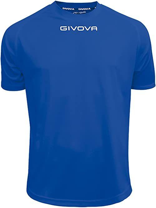 Givova - MAC01 koszulka sportowa, jasnoniebieska, 4XS