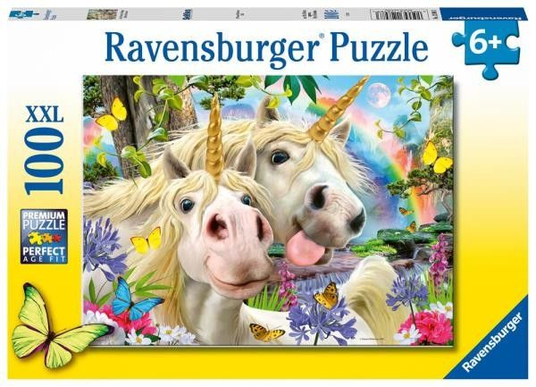 Ravensburger - Puzzle Don,t worry Be happy 100 elem. 128983