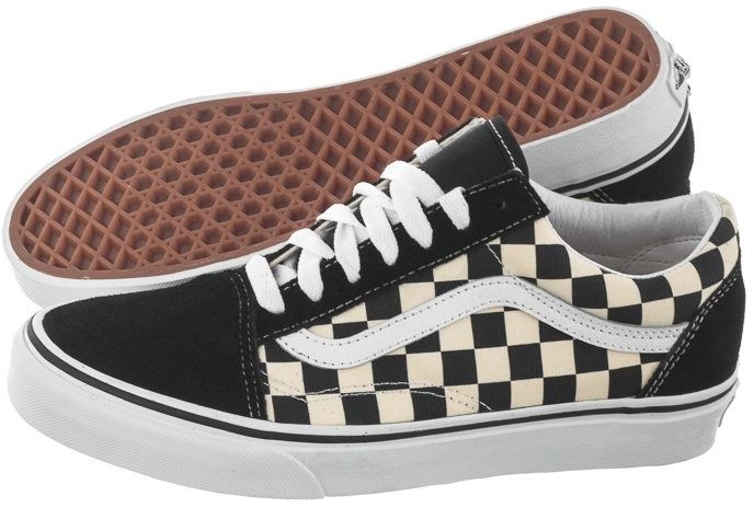 Buty Vans Old Skool (Primary Check) Blk/White VN0A38G1P0S1 (VA296-a)