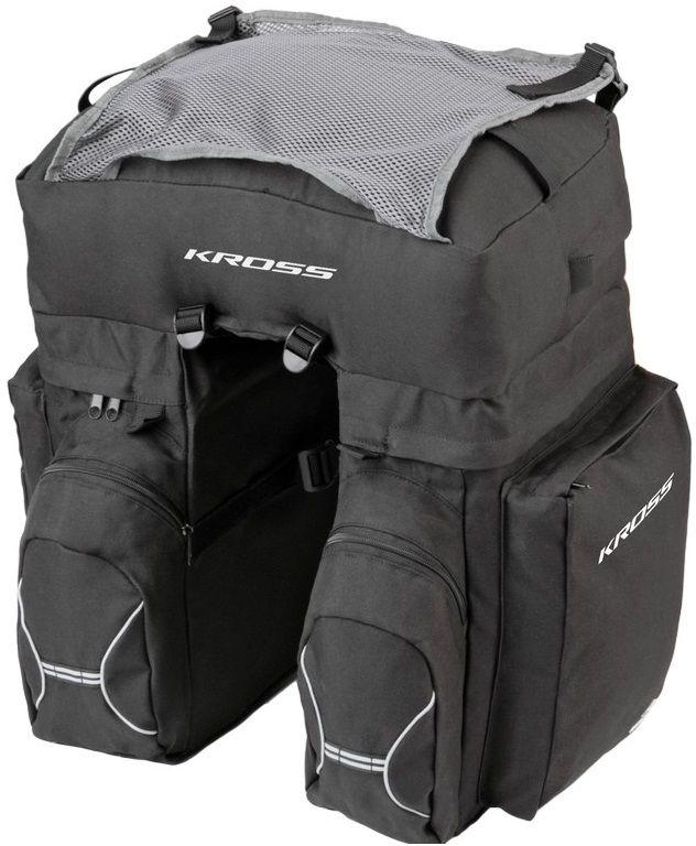 Torba Kross Roamer Triple Rear Bag tylna czarna