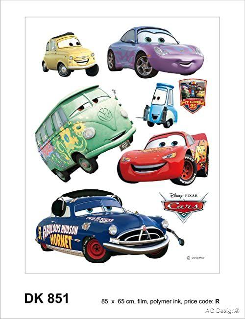 Naklejka ścienna DK 851 Disney Cars