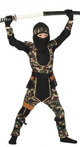 Kostium dla chłopca Ninja - Komandos HIGH QUALITY