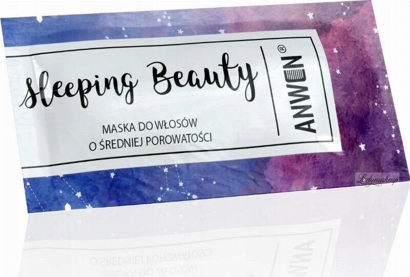 ANWEN - Sleeping Beauty - Maska do włosów o średniej porowatości - Na noc - 10 ml