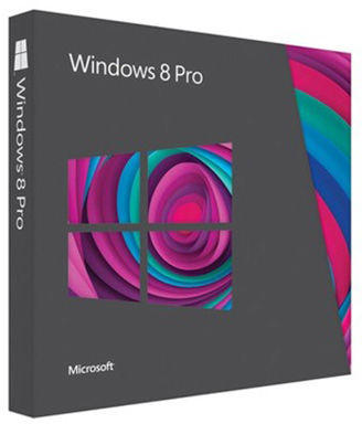 Microsoft Windows 8/8.1 Pro BOX DVD TR/PL