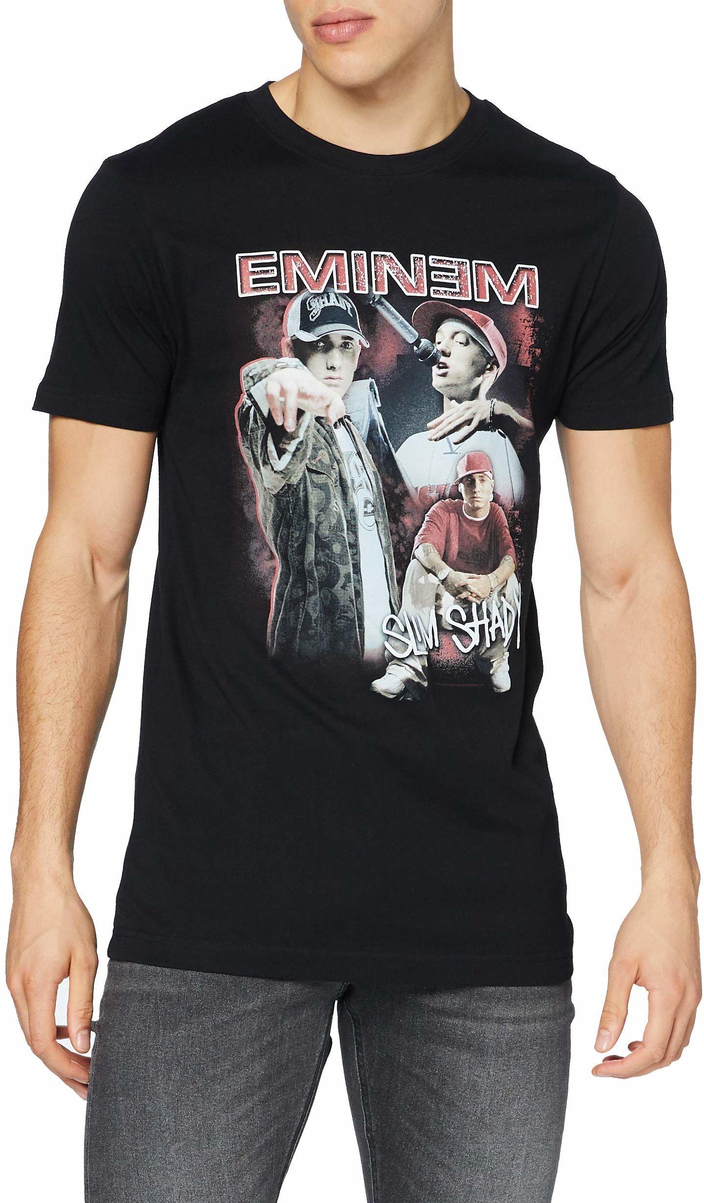 Mister Tee męska Eminem Slim Shady T-shirt z krótkim rękawem Czarny XXL