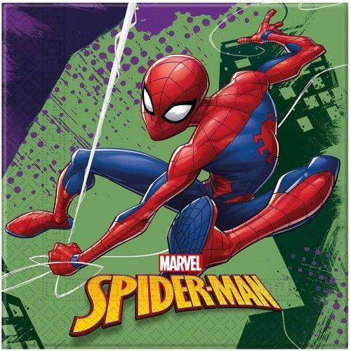 Serwetki papierowe Spider-Man, 20 szt.