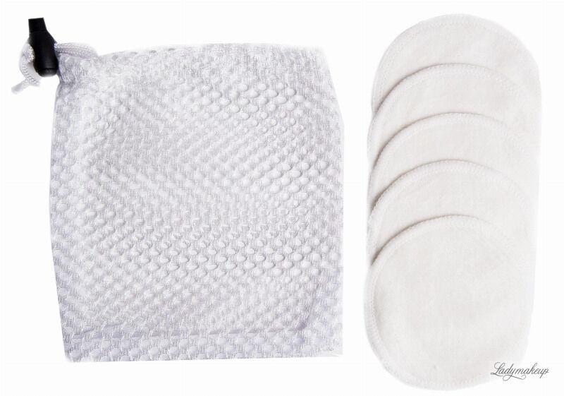 LashBrow - Zestaw 5 wacików kosmetycznych wielokrotnego użytku