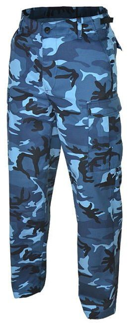 Spodnie wojskowe Mil-Tec US Ranger BDU Sky Blue (11810023)
