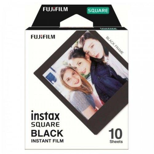 Wkłady Fujifilm Instax Square Film Black Frame (10 sztuk)