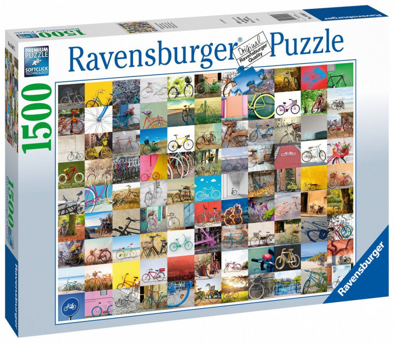 Ravensburger - Puzzle 99 rowerów 1500 el. 160075