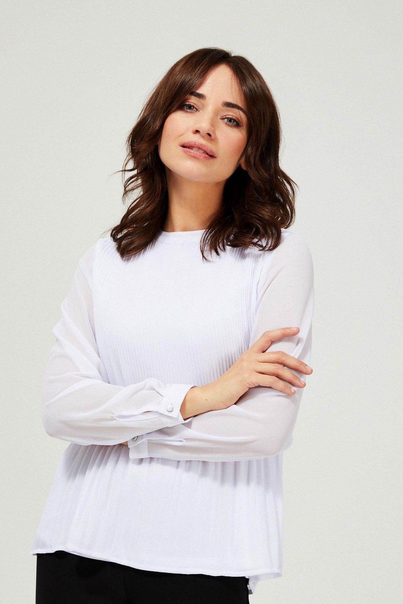Koszula z plisami