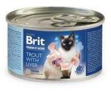 Brit Premium by Nature Cat Trout with Liver Pstrąg Wątróbka 200 g