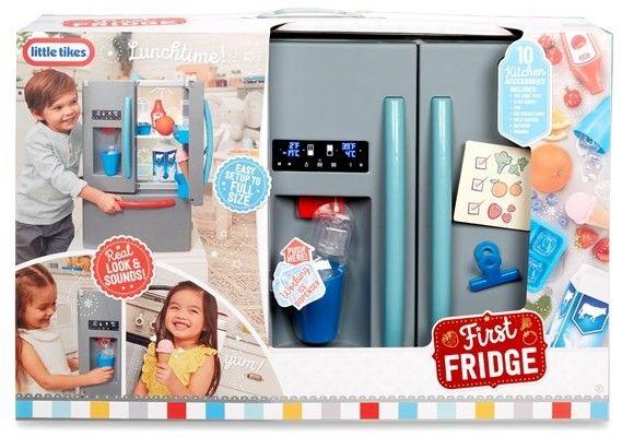 Little Tikes - Pierwsza lodówka dla dzieci Światło Dźwięk 651427