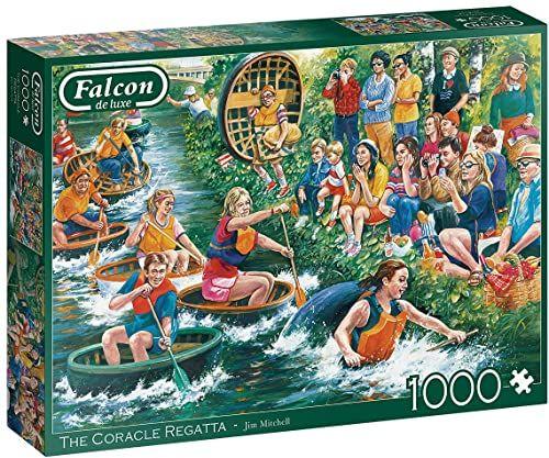 Falcon de luxe The Coracle Regatta 1000 sztuk puzzli