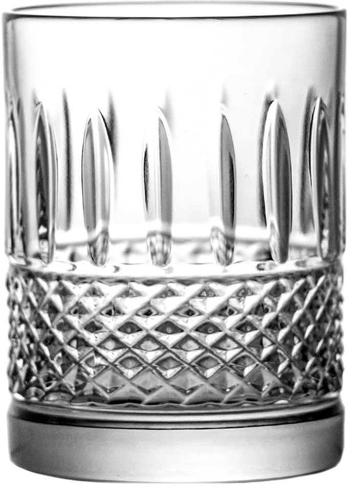 Szklanki kryształowe do kawy soku 6 sztuk 9195