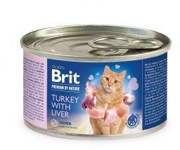 Brit Premium by Nature Cat Turkey with Liver Indyk Wątróbka 200 g