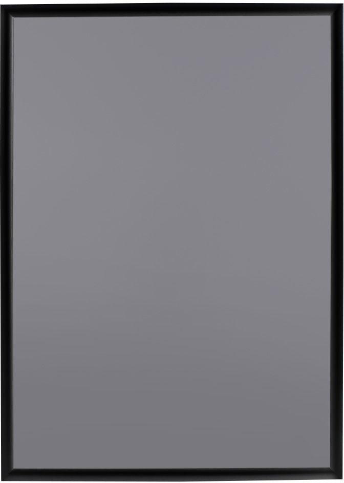Ramka OWZ A1 plakatowa zatrzaskowa aluminiowa czarna