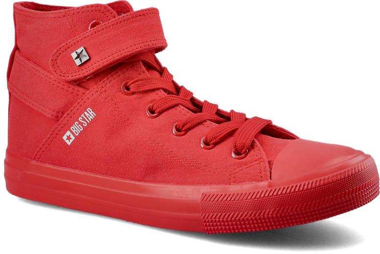 Trampki BIG STAR FF274580 Czerwony