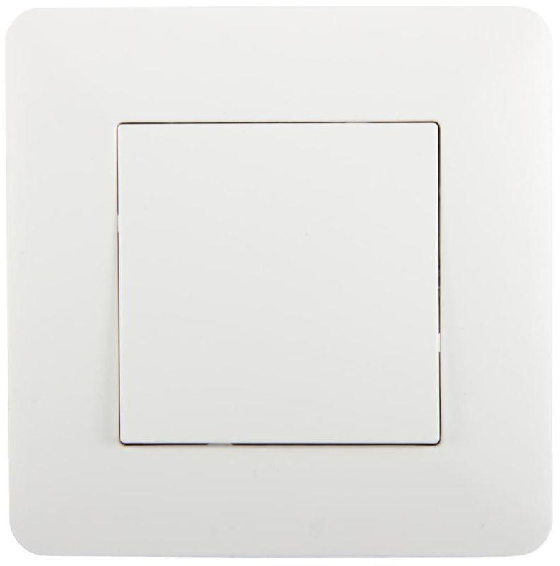 Włącznik pojedynczy schodowy ARTEZO biały HBF