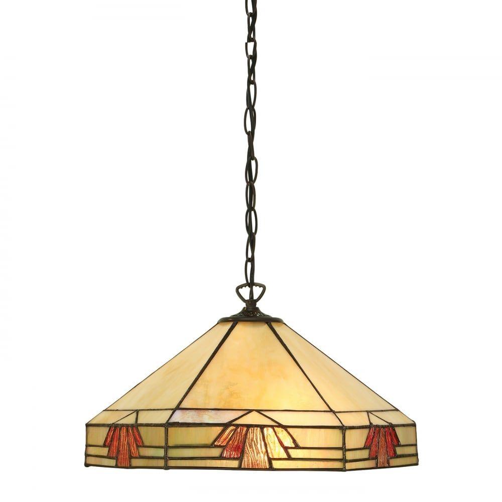 Lampa wisząca TIFFANY NEVADA - 64285 - INTERIORS 1900  Skorzystaj z kuponu -10% -KOD: OKAZJA
