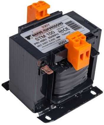 Transformator 1-fazowy STM 100VA 400/230V 16252-9917