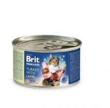Brit Premium by Nature Cat Turkey with Lamb Indyk Jagnięcina 200 g