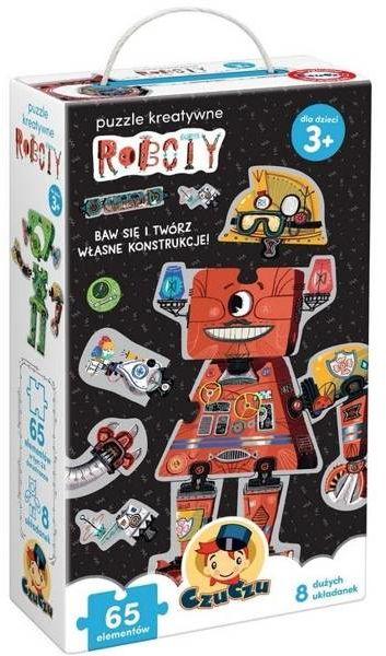 CzuCzu Puzzle kreatywne Roboty 3+ - Bright Junior Media