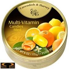 Landrynki Cavendish & Harvey Multiwitamina cytrynowo pomarańczowe 200g
