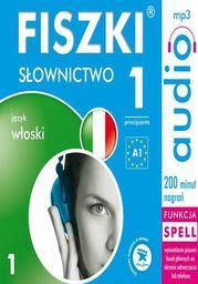 FISZKI audio j. włoski Słownictwo 1 - Audiobook.