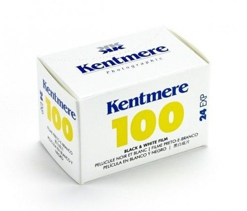 Film Kentmere B&W 100 135/36