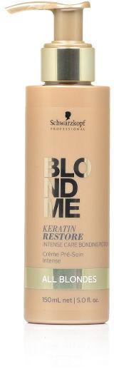 Schwarzkopf BlondMe Keratin Restore All Blondes Intensywna kuracja regenerująca do włosów blond 150 ml
