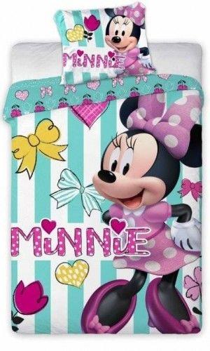 Pościel do łóżeczka Myszka Minnie 100x135 Faro