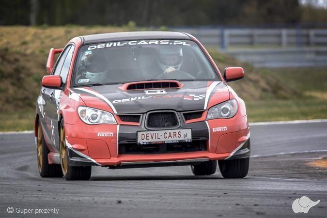 Subaru Impreza WRX vs BMW M Power Tor Poznań