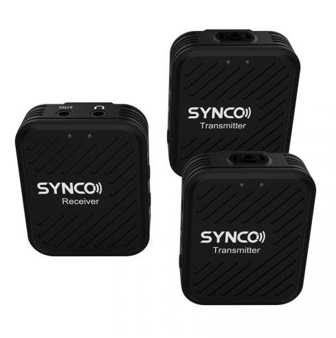 Synco G1 A2 - bezprzewodowy system audio, 2.4GHz (TX+TX+RX)