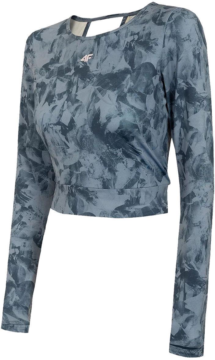 Koszulka damska 4F TSDLF010 Longsleeve - multikolor (H4L21 TSDLF010-90S)