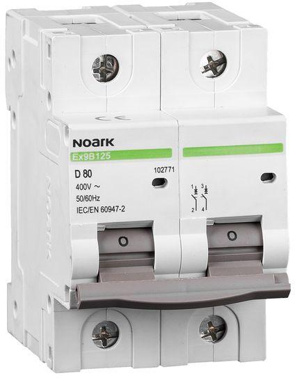 Wyłącznik nadprądowy 1P+N B 20A 25kA NOARK 102715