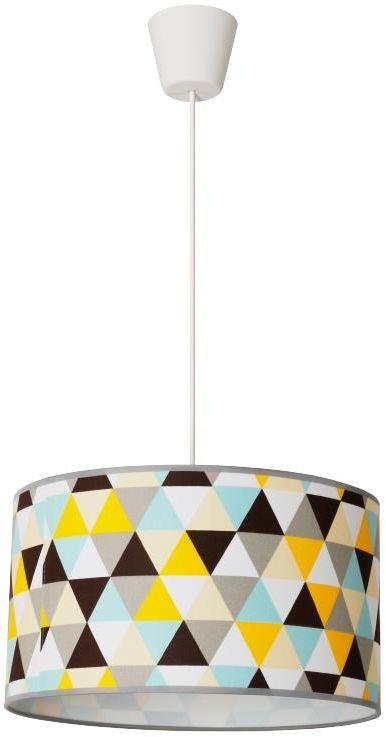 Kolorowa lampa wisząca w geometryczne wzory - EX468-Hestix