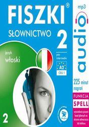 FISZKI audio j. włoski Słownictwo 2 - Audiobook.
